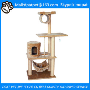 High-End Pet Products and Cats Application Cat Tree with Sisal Rope pictures & photos