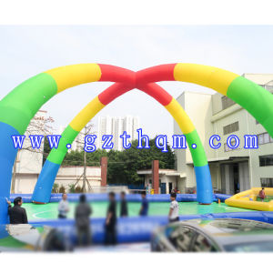 Inflatable Running Arch with Logo Print/Decoration Christmas Inflatable Arch pictures & photos