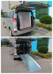 Aluminum Wheel Chair Ramp Loading 350kg pictures & photos