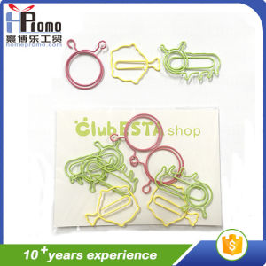Cheap Geometric Clips/ Paper Clips in Small Order pictures & photos