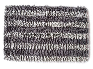Chenille Fabric Floor Mat pictures & photos