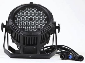IP65 Waterproof LED PAR Light 54PCS 3W RGBW LED PAR for Outdoor pictures & photos