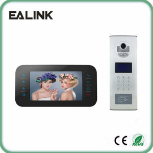 "7"" Video Door Phone Intercom Home Security (M1707B+D21BD) pictures & photos"