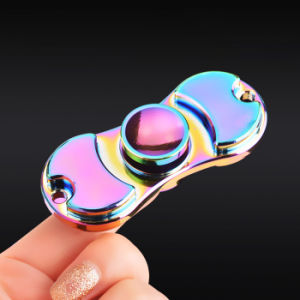 2017 Hand Spinner Multicolor Aluminum Alloy Bearing Finger Spinner Metal Kids/Adult Funny Anti Stress Fidget Toy pictures & photos