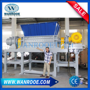 Waste Tire Plastic Bottle Recycling Rotor Shredding Machine pictures & photos