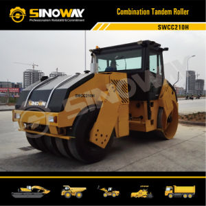 Combination Tandem Vibratory Roller, Road Roller pictures & photos
