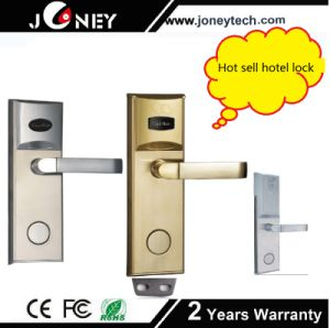 Digital Door Lock System, Intelligent RFID Card Hotel Lock pictures & photos