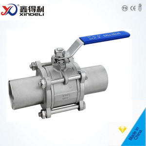 Stainless Steel Factory 3PC Threaded End NPT 2000wog Ball Valve pictures & photos