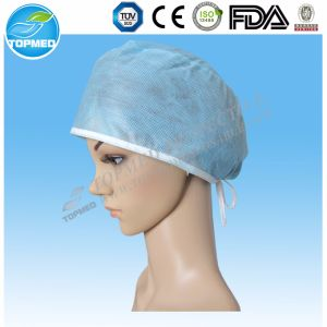 Elastic Surgical Head Caps with Ellipse Top for Medical Use pictures & photos
