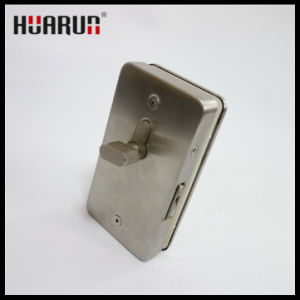 Zinc Alloy Glass Door Lock with Wall HR-1130C/HR-1130B pictures & photos