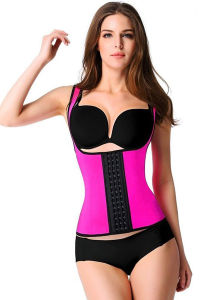 Hot Selling Latex Waist Cincher Waist Trainer Corset for Women pictures & photos