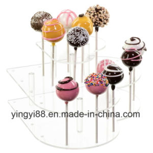 Best Selling Acrylic Heart Cake Pop Stand pictures & photos