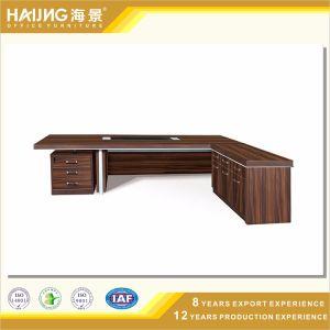 Modern Executive Desk with Aluminum Frame Wooden Desk pictures & photos