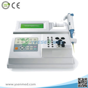 Medical Hospital Lab 2 Channels Automatic Blood Coagulation Analyzer pictures & photos