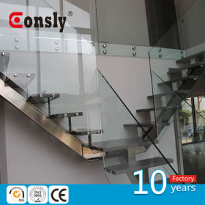 Interior and Exterior Glass Glass Railing Design pictures & photos