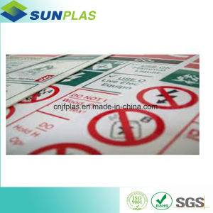 PVC Rigid Sheet for Advertising Banner pictures & photos