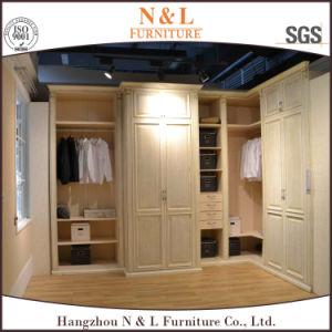 Fashion Design Wardrobe with Metal Door pictures & photos