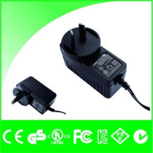 12V 1A UK EU Us Au Plug Wall Mount LED Power Supply pictures & photos