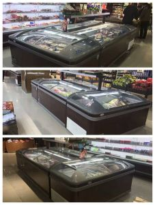 Blast Freezer Commercial Refrigerator Market Island Freezer pictures & photos