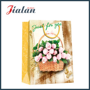 Recycle Promotion OEM Cheap Printed Logo Paper Bag for Boutique pictures & photos