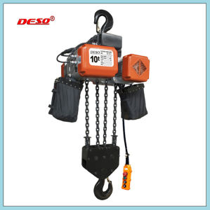 Building Lifting Motor Electric Chain Hoist pictures & photos