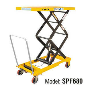 Good Quality Double Scissors Lift Table SPF680 for Sale pictures & photos