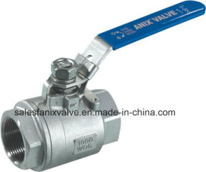 2PC Type Ball Valve with Lockable Handle (1000WOG) pictures & photos