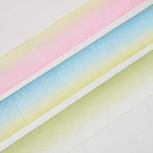 Rainbow Sheer Ribbon Multi Color pictures & photos