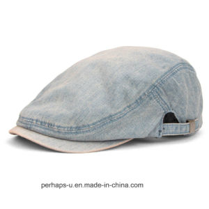 High Quality Men Denim Leisure Fashion Hat Beret Caps pictures & photos
