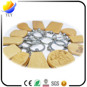 Fashion Design All Kinds of Wooden Key Chain Rectangle Wood Key Chain pictures & photos