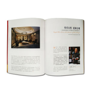 High Quality Coated Paper Full Color Printing Customized Printing Magazine pictures & photos