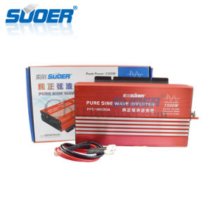 Suoer 12V 220V 1500W Sine Wave Frequency Inverter (FPC-H1500A) pictures & photos