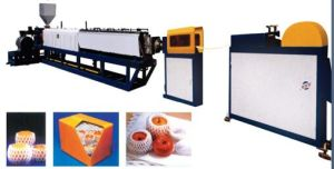 Plastic Fomed Fruit Net Making Machine pictures & photos
