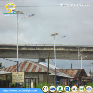 High Effiency 100W LED Solar Street Light in Ghana pictures & photos