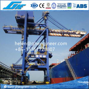Grab Bucket Ship Unloader 600tph for Coal and Cement pictures & photos