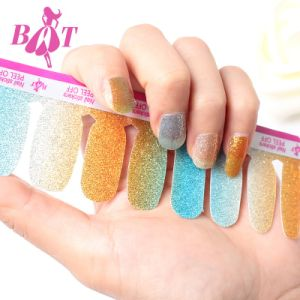 2017 Beauty Flowers Bling adhesive Nail Art Sticker Nail Sticker pictures & photos