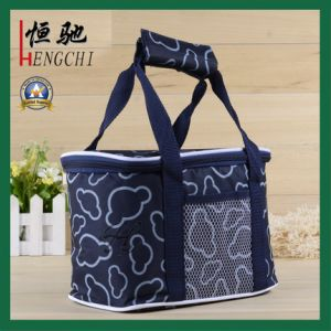 Non-Woven Shoulder Strap Cooler Lunch Picnic Tote Bag pictures & photos