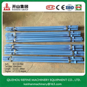 B22 11degree Steel Drilling Shank for Pick Hammer pictures & photos