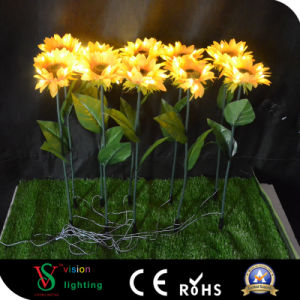 LED Sunflower Artificial LED Flowers Lights pictures & photos