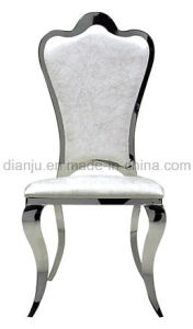 Modern Furniture Stainless Steel Dining Banquet Chair (B812#) pictures & photos