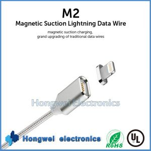 Magnetic Micro USB Data Lightning Charge USB Cable for iPhone 5 6s I104 pictures & photos