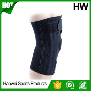 Neoprene Open Patella Knee Brace Support (HW-KS028) pictures & photos