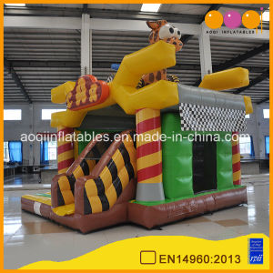 Giraffe Car Combo Inflatable Bouncer Slide Toy Game (AQ01782) pictures & photos