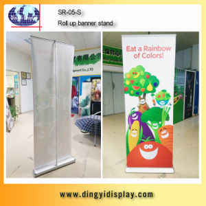 New Retractalbe Wide Base Single Side Roll up Stand (SR-05-S) pictures & photos
