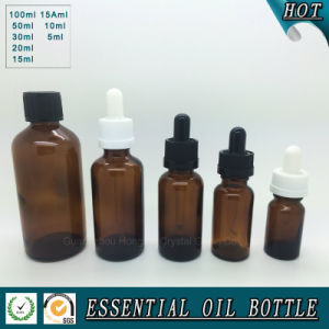 Brown Essential Oil Glass Bottle pictures & photos