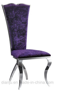 Home Furniture Modern Style Fabric Leisure Dining Chair (B802)