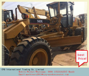 Caterpillar 140k Motor Grader Used Cat 140k in Stock pictures & photos