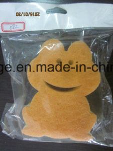 Lovely Frog Shape Filter Sponge, Cleaning Products, Washing Sponge, Cleaning Tool pictures & photos