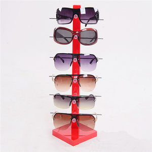 New Fashion Design 6-Pair Sunglasses Eye Glasses Frame Display Rack pictures & photos