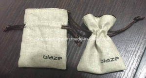 Fashion Cotton and Linen Drawstring Bags pictures & photos